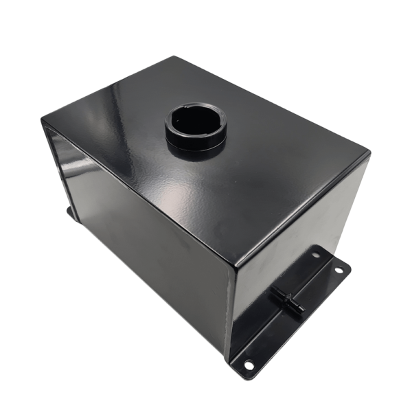 10 Litre Fuel Tank Assembly, FM Series, All Steel Powder Coated Black