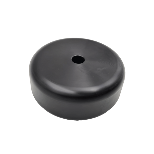 Replacement Kick-board Wheel for the Chapman MG250 Menage Grader. 100mm OD, 12mm Bolt Hole, 40mm Depth, machined from Acetal Polymer.