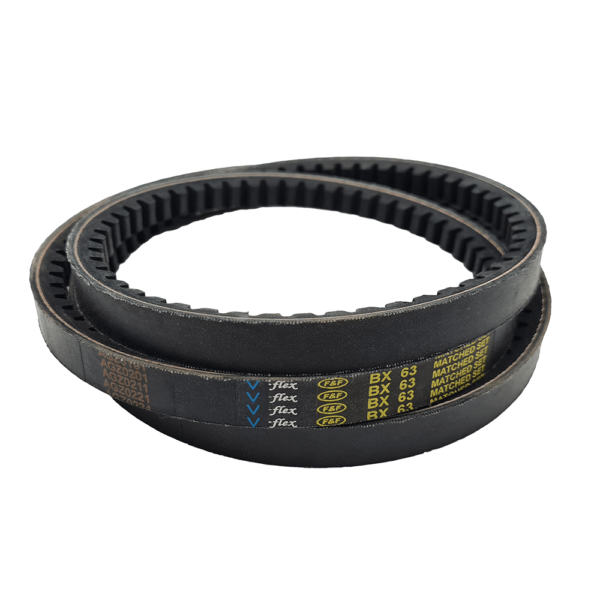 BX63 BELT Outside Length:81inch,Top Width:1/2inch to suit RM150 Rotary Mower (2017 onwards)