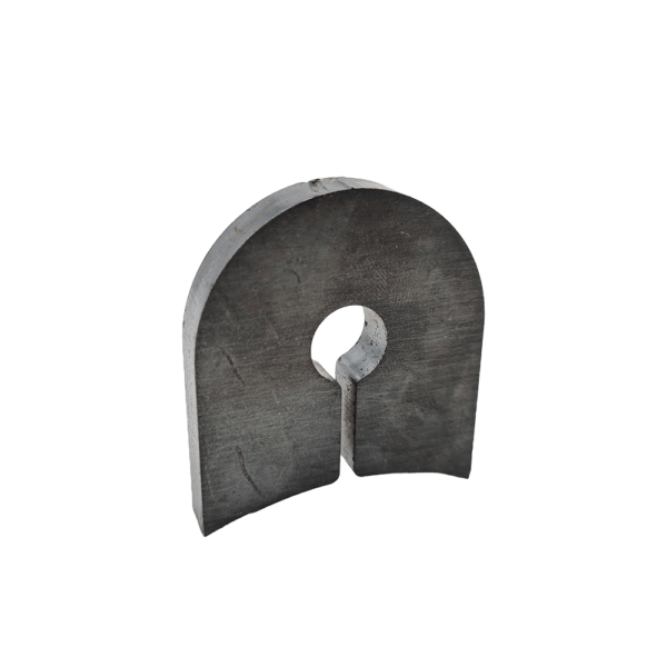 Replacement blade lug for Chapman FM Series Flail Mower rotors.