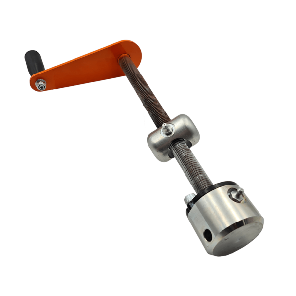 Height Adjustment Complete Assembly, RM120 Comprising, Height Adjuster, Top, And Bottom Mounts, Bearings Etc. Fully Assembled